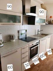 Nolte Küche Küchenzeile Einbauküche Hochglanz