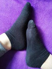 Getragene Wäsche oder Socken