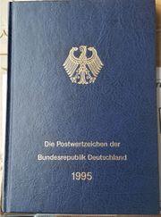 Briefmarkenbuch Postwertzeichen der Bundesrepublik Deutschland