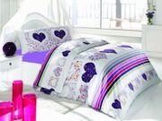 3 tlg Teilig Bettwäsche Bettgarnitur