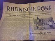 Ausgabe der Rheinischen Post 21