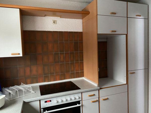 Einbauküche inkl. Backofen und Infrarot-Kochfeld zu verschenken