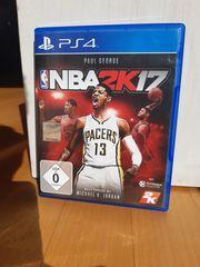 NBA2K 2017 PS4 Basketballspiel