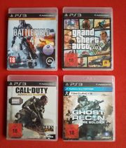 PS3 Spiele Neuwertig