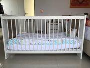 gepflegtes Paidi Kinderbett mit fast