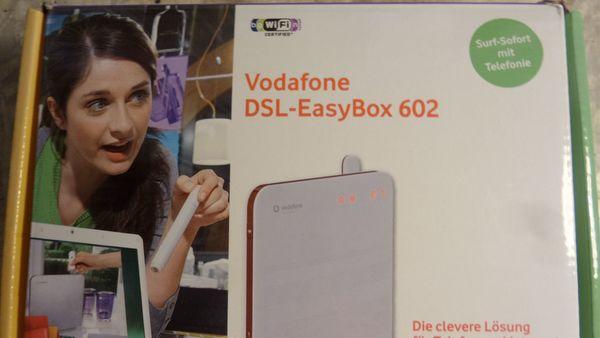 EasyBox 602 DSL Router Modem