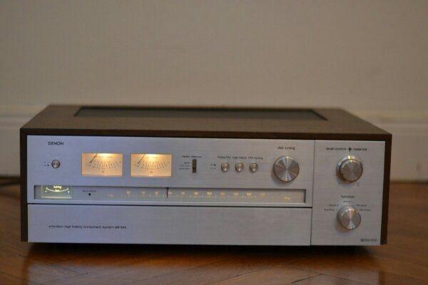 Denon GR-555, Receiver, Design-Klassiker