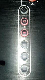 Reloop IQ2 MIDI Mixer Effekte