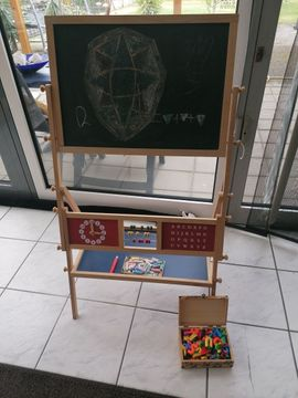 Kindertafel Malen-Schreiben-Magnet