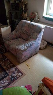 fester starker Sessel gutes Polster