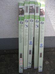 5 Stck Lichtschacht-Abdeckungen mit Alu-Rahmen