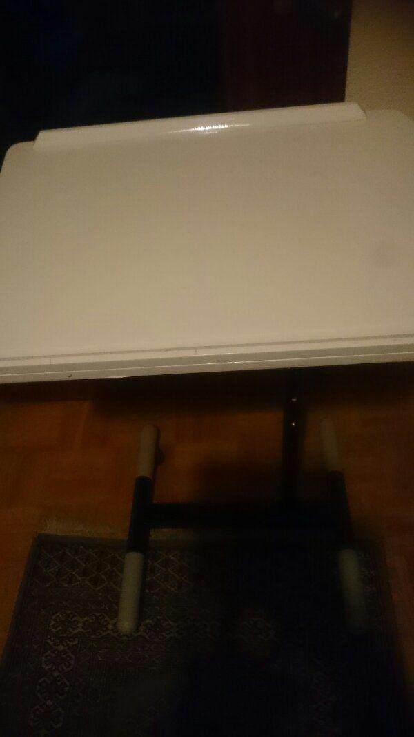 Weißer Laptop Tisch