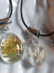 Halskette Verschiedene Gräser