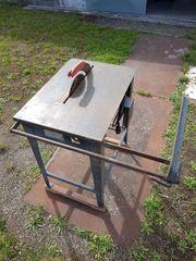 Bau Tischkreissäge mit Anschlag