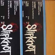 2x Sitzplatzkarten 1 Kategorie Slipknot
