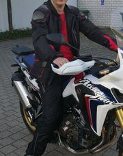 Motorrad Textil Kombination Gr 56
