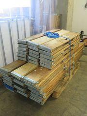 Holzaufsätze für Europaletten mit 4