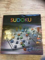 Sudoku Spiel aus Glas wie