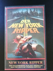 VHS Der New York Ripper