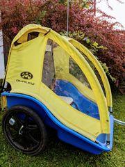 Fahrradanhänger Zweisitzer von Burley