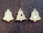 DIY Betondeko Dekoration Weihnachten Tannenbaum