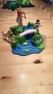 playmobil Einhorn wasserfall