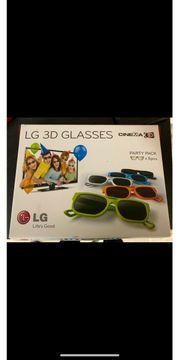 7 x LG 3d Brille