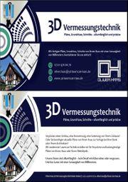 3D-Vermessung Grundriss Schnitte Ansichten von