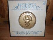 BEETHOVEN - Die 9 Sinfonien LP-Box
