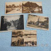 5 alte Postkarten Bremen-Worpswede