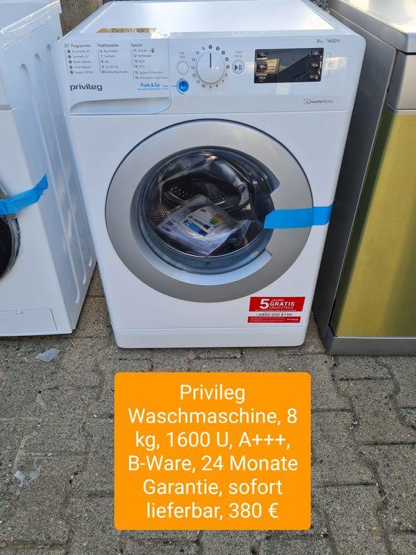 Privileg Waschmaschine 8kg 1600U