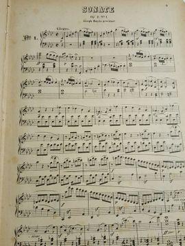 Bild 4 - Antiquarische Partituren für Klavier - Heidelberg Handschuhsheim
