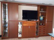 Wohnwand Wohnzimmerschränke Vitrinen Beleuchtet Holz