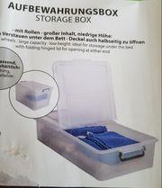 Aufbewahrungsbox NEU m Rollen 80x40x16