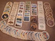 Alte Bierdeckel und diverse Serien