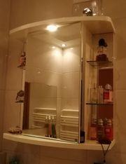 Glas-Badezimmerschrank