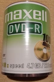 Maxell DVD-R 4 7GB 120min