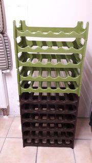1 Etage Weinregal aus Plastik