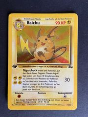 Pokemon Pokemon Karte - Raichu Holo