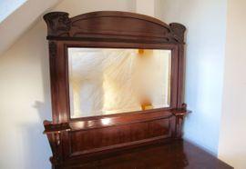 Sonstige Möbel antiquarisch - Kommode Waschtisch Spiegel Jugendstil