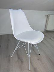 Esstischstühle 6er Set Skandinavischer Design