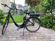 E-Bike sehr gutes Fahrrad aus
