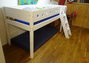 Kinderbett - Flexa White Halbhohes Bett