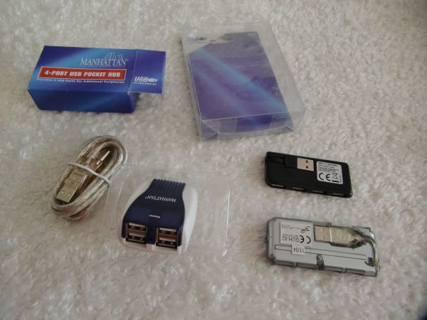 4 Port USB Hubs Fa