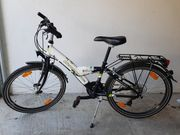 Vermont Fahrrad 24 Zoll weiß