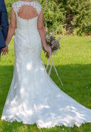 Brautkleid gebraucht Größe 36