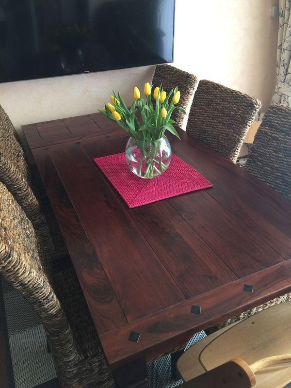 Tisch Cuba kolonial Esstisch