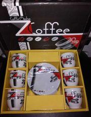Espresso oder Mokka Sets unbenutzt
