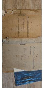 Historisches Manuskript Deutsch Atlantische Expedition
