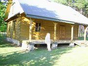 POLEN Blockhaus Holzhaus 120qm zum